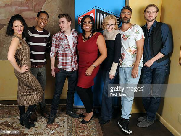 Actors Jenny Slate Tyler James Williams and Kyle Gallner director Darrien Michele Gipson and actors Alison Pill Taika Waititi and Boyd Holbrook...