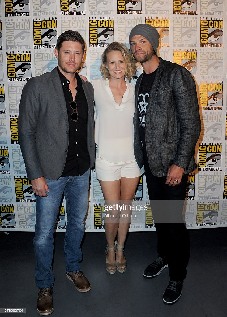 "Comic-Con International 2016 - ""Supernatural"" Special Video Presentation And Q&A : News Photo"