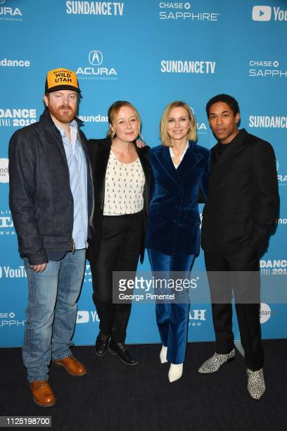 Actors Jeremy Bobb Jennifer Ehle Naomi Watts and Kelvin Harrison Jr attend the The Wolf Hour Premiere during 2019 Sundance Film Festival at The Ray...