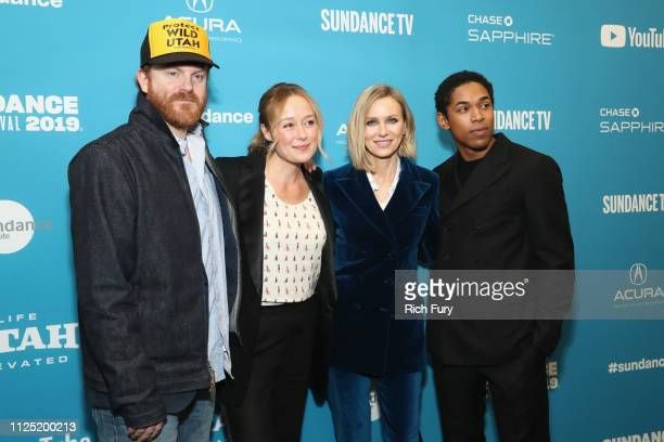 """Actors Jeremy Bobb, Jennifer Ehle, Naomi Watts and Kelvin Harrison Jr attend the """"The Wolf Hour"""" Premiere during 2019 Sundance Film Festival at The..."""