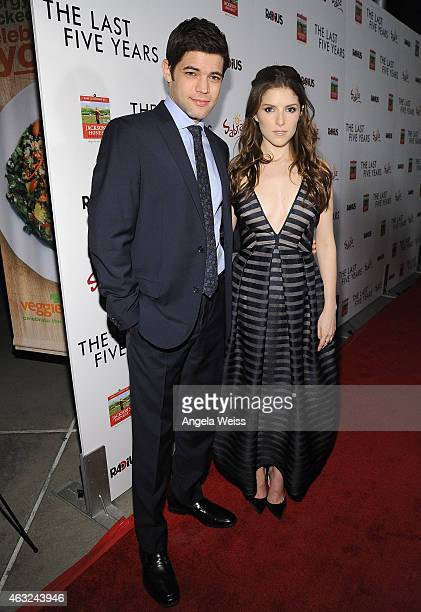 77a43bf706 Actors Jeremy Jordan and Anna Kendrick attend the premiere of RADiUS' 'The  Last Five
