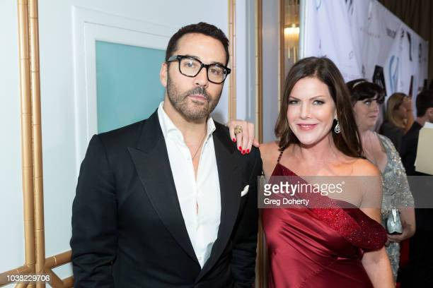 Actors Jeremy Piven and Kira Reed Lorsch attend the Face Forward's 10th Annual 'La Dolce Vita' Themed Gala at the Beverly Wilshire Four Seasons Hotel...
