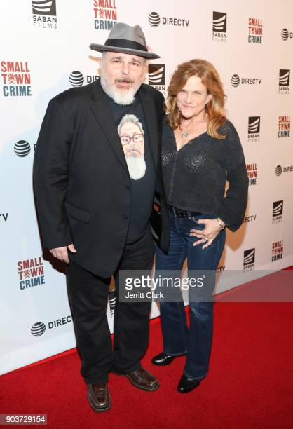 Actors Jeremy Ratchford and Dale Dickey attend a Special Screening Of Small Town Crime at the Vista Theatre on January 10 2018 in Los Angeles...
