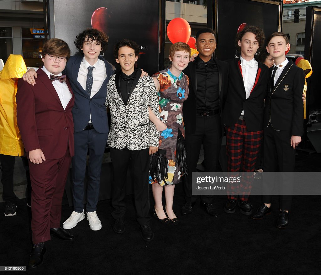 """Premiere Of Warner Bros. Pictures And New Line Cinema's """"It"""" - Arrivals : News Photo"""