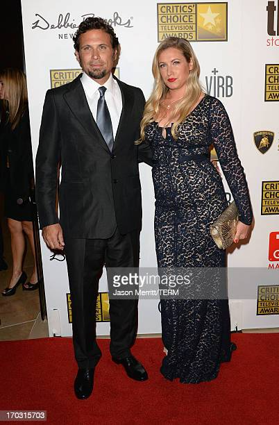 Actors Jeremy Sisto and Addie Lane arrive at Broadcast Television Journalists Association's third annual Critics' Choice Television Awards at The...