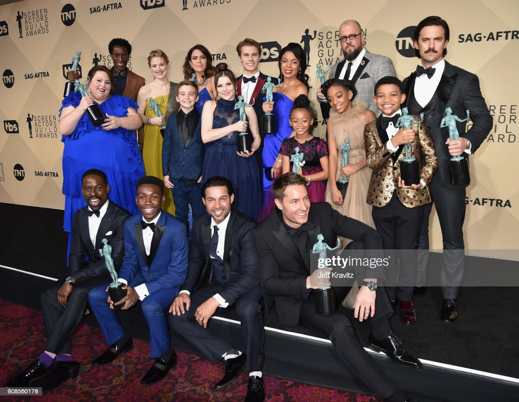 24th Annual Screen ActorsGuild Awards - Press Room : News Photo