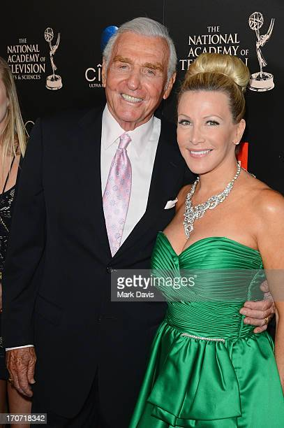 Actors Jerry Douglas and Kym Douglas attend The 40th Annual Daytime Emmy Awards at The Beverly Hilton Hotel on June 16 2013 in Beverly Hills...