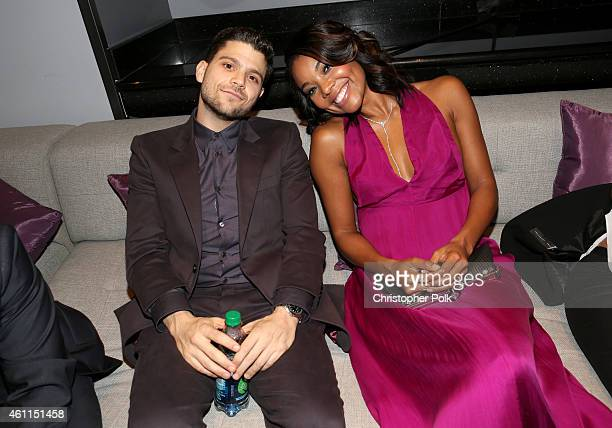 Actors Jerry Ferrara and Gabrielle Union attend The 41st Annual People's Choice Awards at Nokia Theatre LA Live on January 7, 2015 in Los Angeles,...