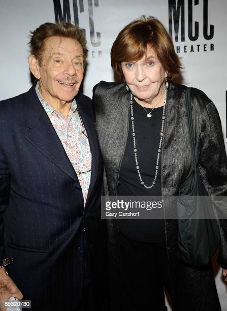 Actors Jerry Stiller , and Anne Meara attend MCC Theater's Miscast 2009 at the Hammerstein Ballroom on March 9, 2009 in New York City.