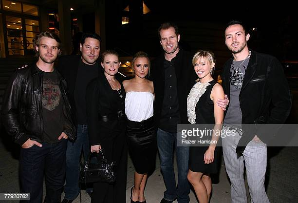 Actors Jesse Spencer Greg Grunberg, Natalie Maines, Hayden Panettiere,Jack Coleman, Kristen Bell,Jeremiah James attends the Race To Fight Epilepsy...