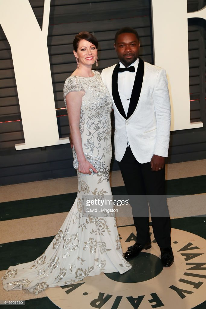 Actors Jessica Oyelowo and David Oyelowo attend the 2017 Vanity Fair Oscar Party hosted by Graydon Carter at the Wallis Annenberg Center for the Performing Arts on February 26, 2017 in Beverly Hills, California.