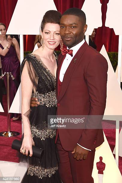 Actors Jessica Oyelowo and David Oyelowo attend the 87th Annual Academy Awards at Hollywood Highland Center on February 22 2015 in Hollywood...