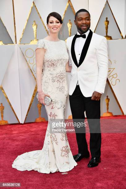 Actors Jessica Oyelowo and David Oyelowo attend the 89th Annual Academy Awards at Hollywood Highland Center on February 26 2017 in Hollywood...