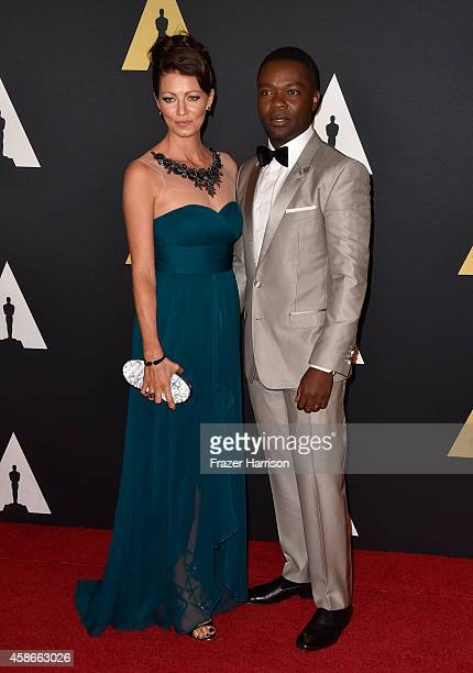 Actors Jessica Oyelowo and David Oyelowo attend the Academy Of Motion Picture Arts And Sciences' 2014 Governors Awards at The Ray Dolby Ballroom at...