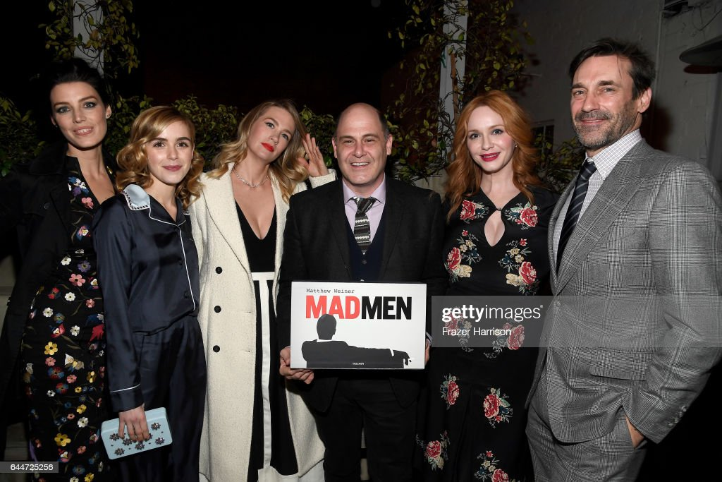 """Launch For Matthew Weiner's Book """"Mad Men"""" : News Photo"""