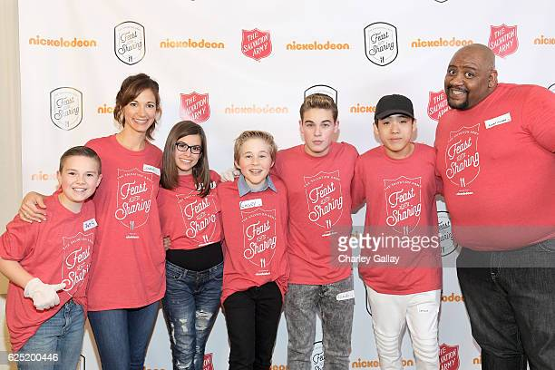 Actors Jet Jurgensmeyer from Shimmer and Shine Jama Williamson from School of Rock Madisyn Shipman from Game Shakers Casey Simpson from Nicky Ricky...