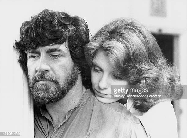 Actors Jill Clayburgh and Alan Bates in a scene from the movie 'An Unmarried Woman' 1978