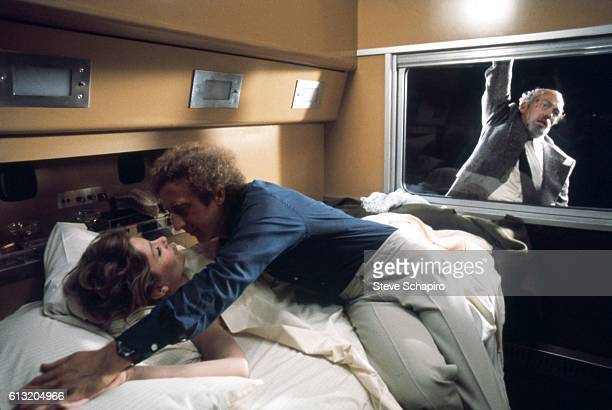 Actors Jill Clayburgh and Gene Wilder perform in a scene from the movie Silver Streak which was released in 1976