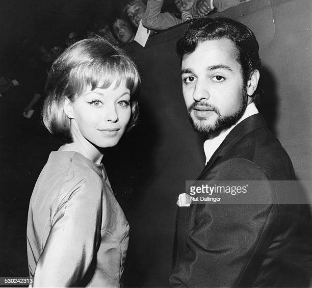 Actors Jill Haworth and Sal Mineo attending the 35th Academy Awards together Hollywood CA September 4th 1963