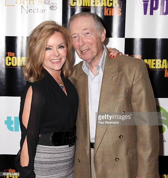 """Actors Jill Whelan and Bernie Kopell attends """"The Comeback Kids"""" Los Angeles Special Screening at Landmark Theatre on February 17, 2015 in Los..."""
