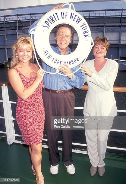 """Actors Jill Whelan, Bernie Kopell, and Lauren Tewes attend """"The Love Boat"""" Renuion Cruise Party to Benefit the American Cancer Society on June 7,..."""