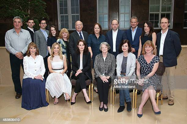 Actors Jim Carter Michael Fox Rob JamesCollier Sophie McShera Lesley Nicol creator Julian Fellowes producers Liz Trubridge and Gareth Neame actors...