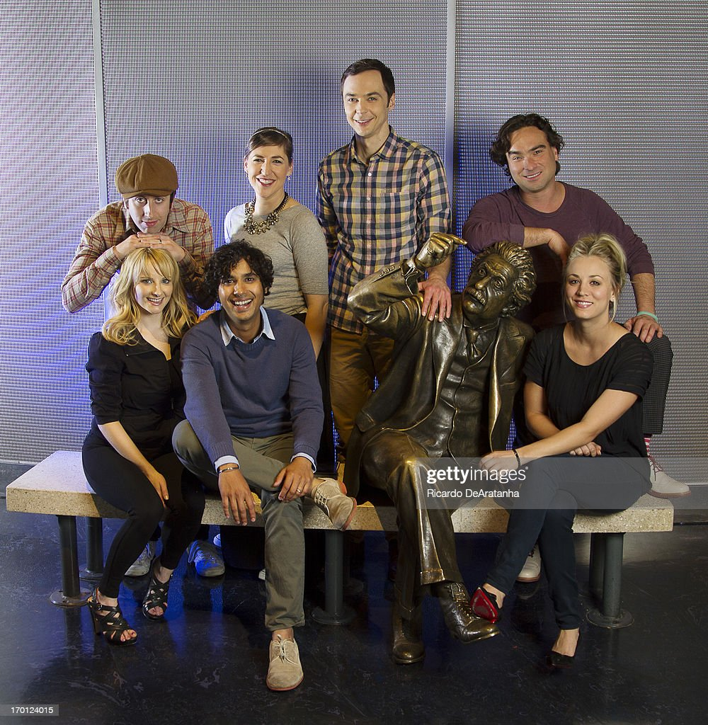 Cast of The Big Bang Theory, Los Angeles Times, June 6th, 2013 : News Photo