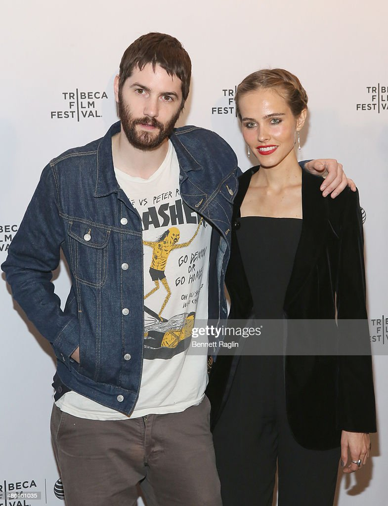 Actors Jim Sturgess and Isabel Lucas attend the screening of 'Electric Slide' during the 2014 Tribeca Film Festival at Chelsea Bow Tie Cinemas on April 22, 2014 in New York City.