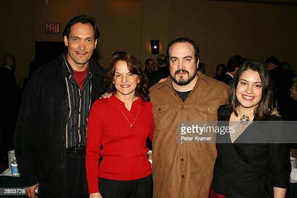 "Actors Jimmy Smits, Priscilla Lopez, David Zayas and Vanessa Aspillaga at the New York City Latin Media and Entertainment Commission salutes ""Anna in..."