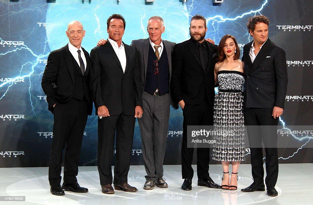 'Terminator: Genisys' European Premiere : News Photo