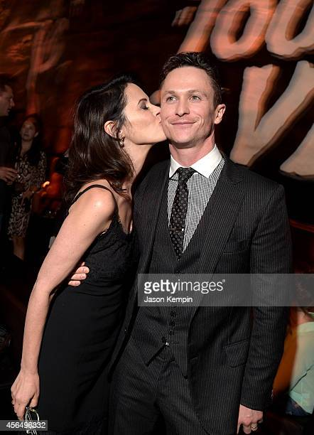 Actors Joanna Going and Jonathan Tucker attend the Premiere Event for DIRECTV's KINGDOM on October 1 2014 in Venice California