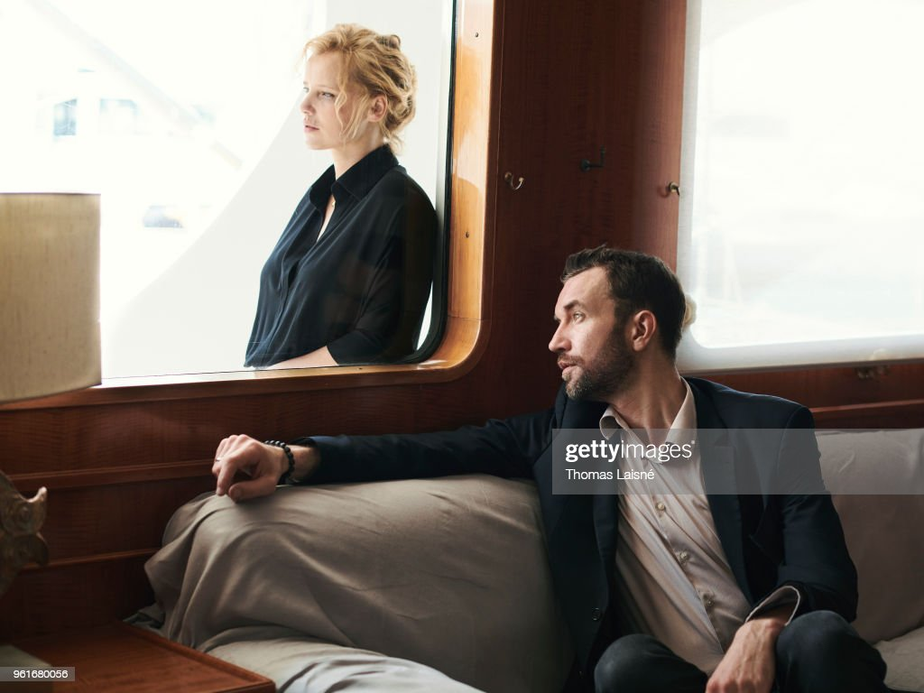 Actors Joanna Kulig Tomasz Kot Are Photographed On May 10 2018 In