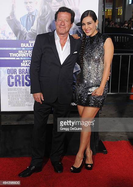 Actors Joaquim de Almeida and Carla Ortiz arrive at the premiere of Warner Bros Pictures' Our Brand Is Crisis at TCL Chinese Theatre on October 26...