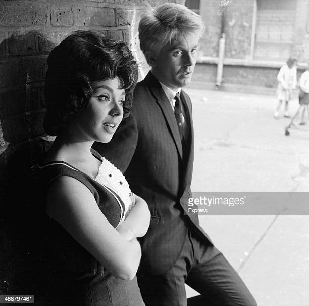 Actors Joe Brown and Susan Maughan in a scene from the film 'What a Crazy World' 1964