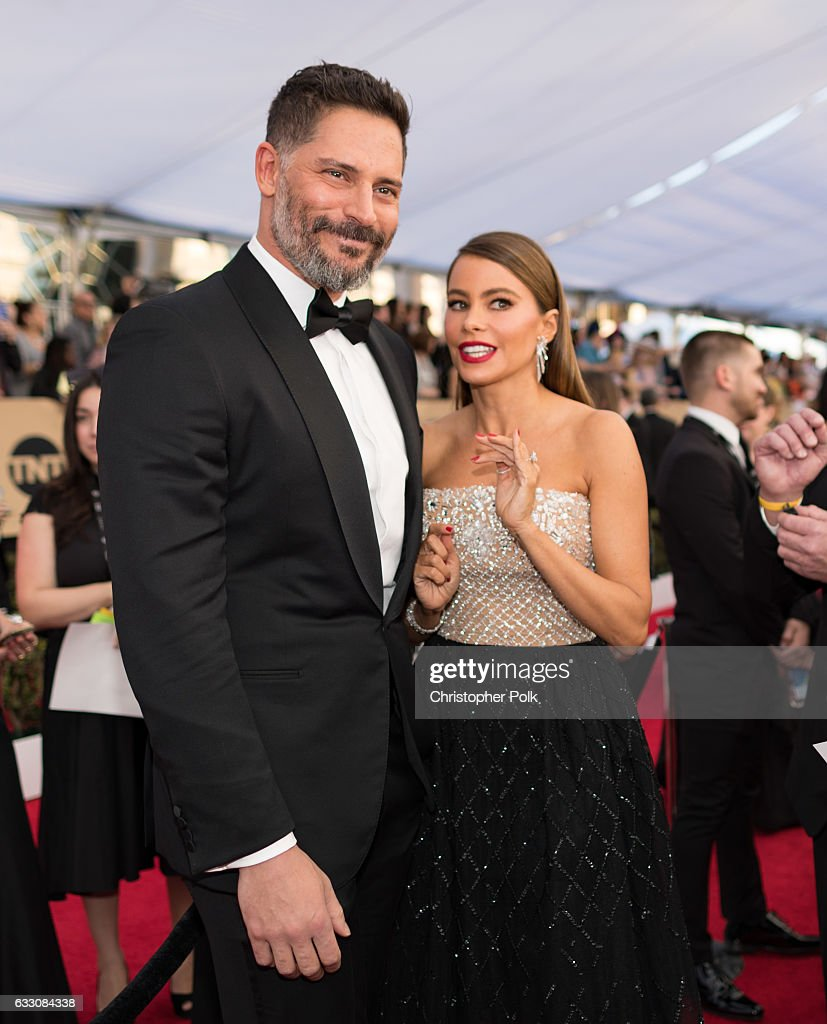 Actors Joe Manganiello and Sofia Vergara attend The 23rd Annual Screen Actors Guild Awards at The Shrine Auditorium on January 29, 2017 in Los Angeles, California. 26592_012