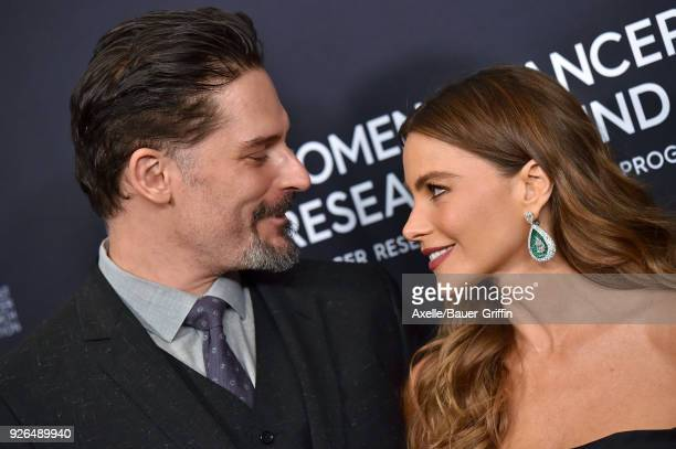 Actors Joe Manganiello and Sofia Vergara attend Women's Cancer Research Fund's An Unforgettable Evening Benefit Gala at the Beverly Wilshire Four...