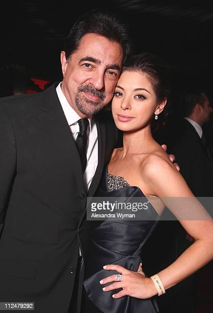Actors Joe Mantegna and Gia Mantegna attends the InStyle and Warner Bros 68th annual Golden Globe awards postparty at The Beverly Hilton hotel on...
