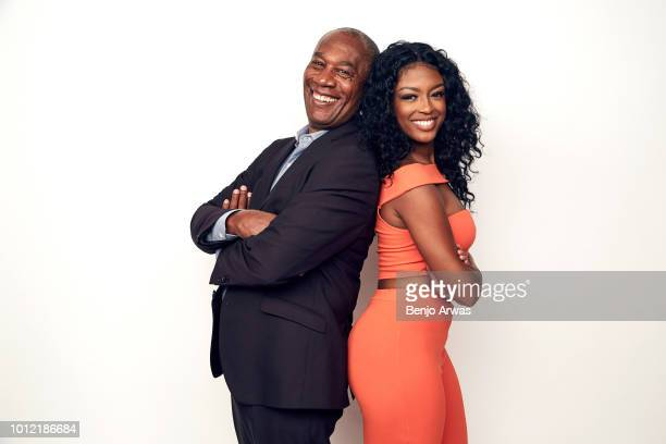 Actors Joe Morton and Javicia Leslie of CBS's 'God Friended Me' pose for a portrait during the 2018 Summer Television Critics Association Press Tour...