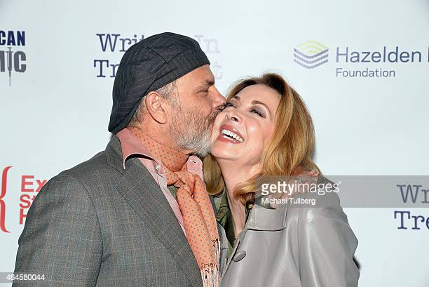 Actors Joe Pantoliano and Sharon Lawrence attend the 6th Annual Experience Strength And Hope Awards at Skirball Cultural Center on February 26 2015...