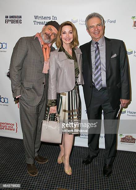 Actors Joe Pantoliano Sharon Lawrence and Tony Denison attend the 6th Annual Experience Strength And Hope Awards at Skirball Cultural Center on...