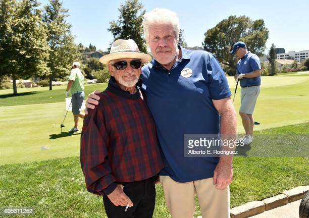Actors Joe Pesci and Ron Perlman attend the SAGAFTRA Foundation 8th Annual LA Golf Classic Fundraiser at Lakeside Golf Club on June 12 2017 in Los...
