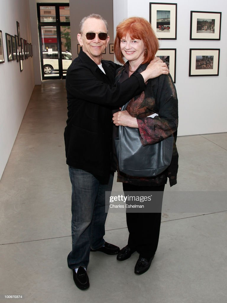 Actors Joel Grey and Blair Brown attend the photography exhibition opening for '1.3: New Color Images by Joel Grey' at Steven Kasher Gallery on May 25, 2010 in New York City.
