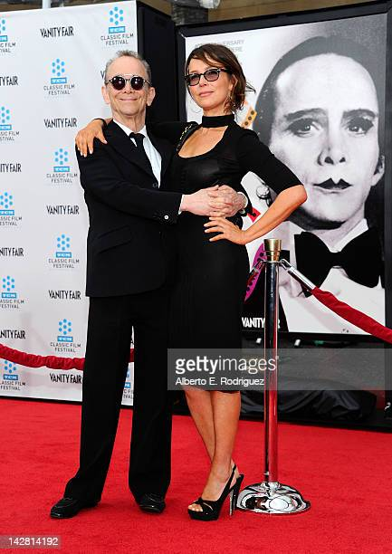"Actors Joel Grey and Jennifer Grey arrive at the TCM Classic Film Festival opening night premiere of the 40th anniversary restoration of ""Cabaret"" at..."