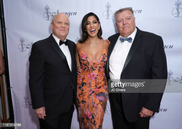 Actors Joel McKinnon Miller Stephanie Beatriz and Dirk Blocker attend the 34th Annual Imagen Awards at the Beverly Wilshire Four Seasons Hotel on...