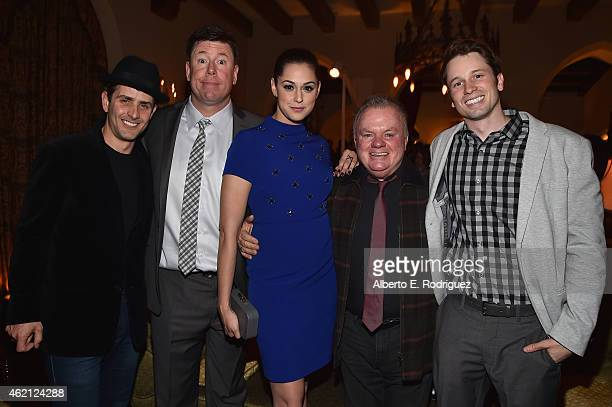 Actors Joey McIntyre Jimmy Dunn Kelen Coleman Jack McGee and Tyler Ritter and Jimmy Dunn attend Entertainment Weekly's celebration honoring the 2015...