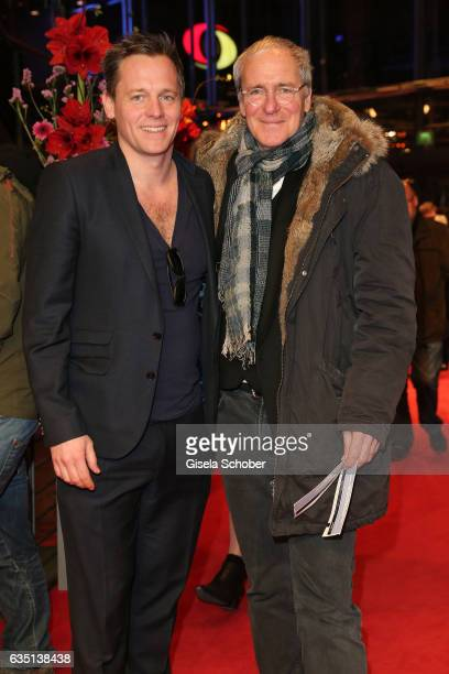 Actors Johannes Zirner and August Zirner attend the 'The Party' premiere during the 67th Berlinale International Film Festival Berlin at Berlinale...