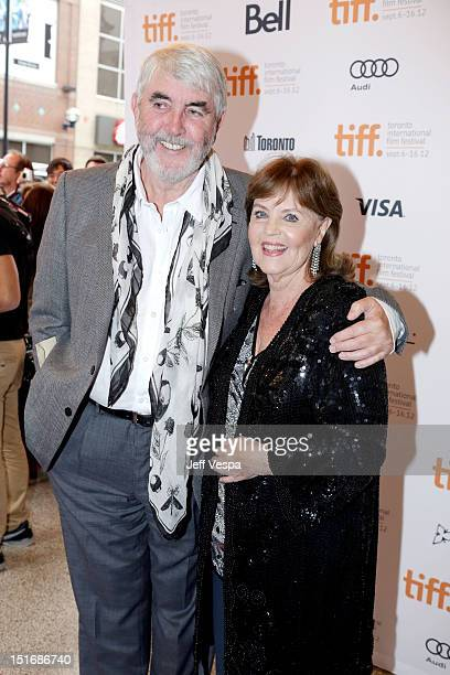 Actors John Alderton and Pauline Collins attend the Quartet premiere during the 2012 Toronto International Film Festival at The Elgin on September 9...