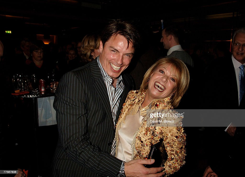 Actors John Barrowman and Elaine Paige attend the after party following the press night of 'Hairspray' at the Bloomsbury Ballroom October 30, 2007 in London, England.