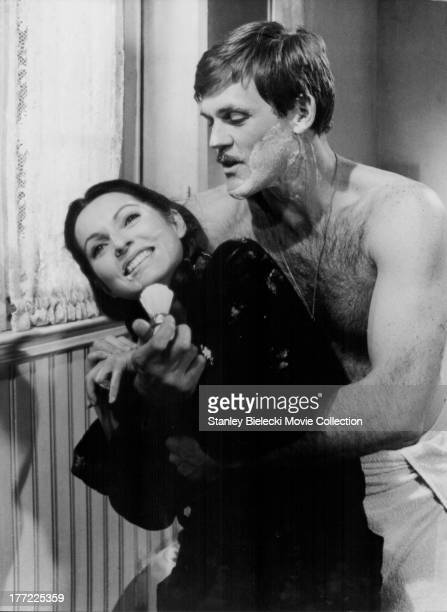 Actors John Beck and MarieFrance Pisier in a scene from the movie 'The Other Side of Midnight' 1977