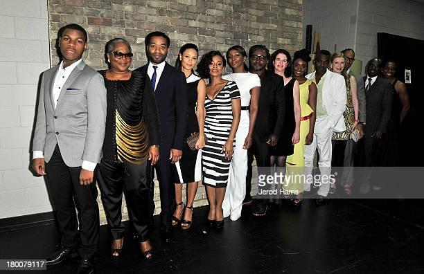 Actors John Boyega Onyeka Onwenu Chiwetel Ejiofor Thandie Newton Anika Noni Rose Genevieve Nnaji director Biyi Bandele producer Andrea Calderwood...